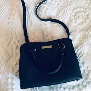 Michael Kors Small Savannah Black Saffiano Leather